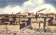 bre001029 - Schlitz Brewery, Milwaukee, Wisconsin, Wi, USA Breweries Postcard Post Card