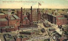 bre001030 - Anheuser-Busch Plant, St.Louis Brewery, Missouri, Mo, USA Breweries Postcard Post Card