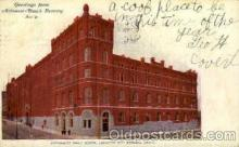 bre001083 - Anheuser-Busch Inc. Automatic Malt House, Beer Brewery, Breweries, Post Card Post Card
