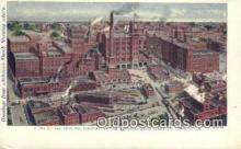 bre001193 - Principal Buildings of the Anheuser-Busch Plant St. Louis, MO, USA Postcard Post Cards Old Vintage Antique