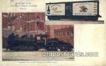 bre001212 - Anheuser Busch Brewing, Locomotive  Postcard Post Cards Old Vintage Antique