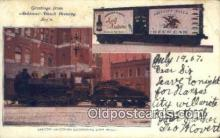 bre001215 - Anheuser Busch Brewing, Locomotive  Postcard Post Cards Old Vintage Antique