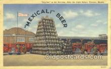 bre001228 - Mecivali Beer Tijuana, Mexico Postcard Post Cards Old Vintage Antique