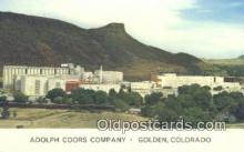 bre001232 - Adolph Coors Co Golden, CO, USA Postcard Post Cards Old Vintage Antique