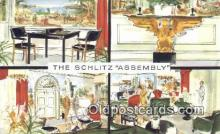 bre001235 - Schlitz Assembly Milwaukee, Wis, USA Postcard Post Cards Old Vintage Antique