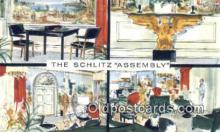 bre001236 - Schlitz Assembly Milwaukee, Wis, USA Postcard Post Cards Old Vintage Antique