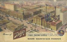 bre001237 - Schlitz Brewing Co Milwaukee, Wis, USA Postcard Post Cards Old Vintage Antique