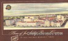 bre001292 - Jos Schlitz Brewing Company Milwaukee, Wis, USA Postcard Post Cards Old Vintage Antique