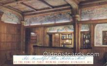 bre001293 - Blue Ribbon Hall, Pabst Brewing Co Milwaukee, Wis, USA Postcard Post Cards Old Vintage Antique