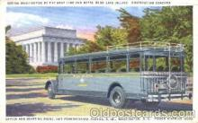 bus010026 - Dertroit-windsor Tunnel Bus, Washington D.C., Wa, USA Buses Postcard Post Card