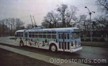 bus010059 - Dayton, Ohio, Oh, USA Christmas bus Bus, Buses Postcard Post Card