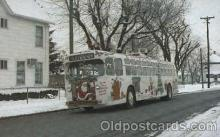 bus010063 - Dayton, Ohio, Oh, USA Christmas bus Bus, Buses Postcard Post Card