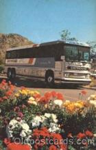 bus010067 - Greyhound Americancruiser Bus, Buses Postcard Post Card