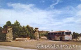 bus010069 - Flagstaff, Williams, Arizona, Az, USA Grand Canyon Bus, Buses Postcard Post Card