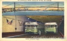 bus010078 - Windsor and Detroit Bus, Buses Postcard Post Card