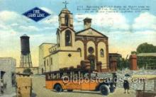 bus010082 - Juarez, TX USA Bus Buses, Old Vintage Antique Post Card Postcard