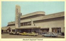 bus010087 - Greyhound Terminal, Cleveland, OH USA Bus Buses, Old Vintage Antique Post Card Postcard
