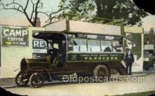 bus010110 - Vanguard, London Bus Buses, Old Vintage Antique Post Card Postcard