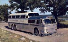 bus010136 - Greyhound Scenicruiser, USA Bus Buses, Old Vintage Antique Post Card Postcard
