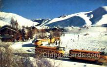 bus010138 - Sun Valley, ID USA Bus Buses, Old Vintage Antique Post Card Postcard