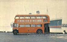 bus010148 - Double Decker Bus, London Bus Buses, Old Vintage Antique Post Card Postcard