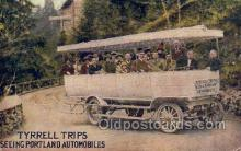 bus010174 - Tyrrell Trips, Portland OR, USA Bus Buses, Old Vintage Antique Post Card Postcard
