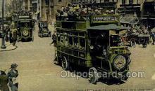 bus010179 - Double Deck Bus, New York, NY USA Bus Buses, Old Vintage Antique Post Card Postcard