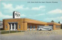 bus010231 - Bus Teminal Depot Vintage Collectable Postcards