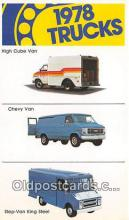 bus010237 - Trucks, Vintage Collectable Postcards
