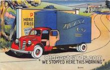 bus010247 - Trucks, Vintage Collectable Postcards
