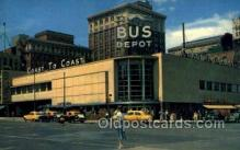 bus500011 - Overland Greyhound bus station Omaho Nebraska USA