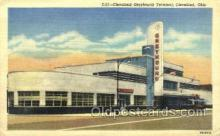 bus500017 - Cleveland Greyhound terminal Cleveland Ohio USA