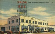 bus500024 - Union bus station Jacksonville Florida USA