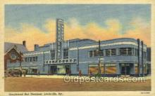 bus500025 - Greyhound bus terminal Louisville Kentucky USA