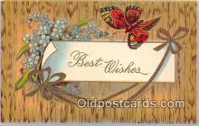 but000022 - Best Wishes  Postcard Post Card