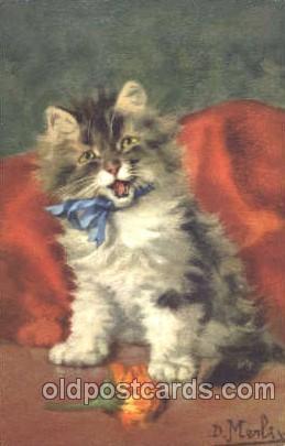 """Схема вышивки  """"Котёнок с бантиком """": комментарии."""