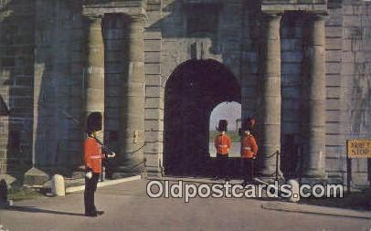 La Porte Citadelle Quebec Canada