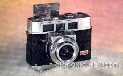 cam001104 - Kodac Motormatic 35F Camera Postcard Post Card