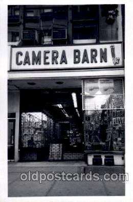 cam001144 - Camera Barn, Broadway, New York, NY USA Camera Post Card Postcard