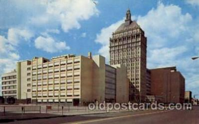 cam001165 - The 19 Story Kodak Office Tower, Rochester, NY USA Camera Post Card Postcard