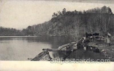 cam001184 - Brides Pond, Salem, CT USA Camera Post Card Postcard