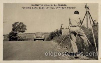 cam001195 - Magnetic Hill NB, Canada Camera Post Card Postcard