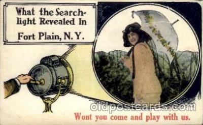 cam001221 - Fort Plain, NY USA Camera Post Card Postcard