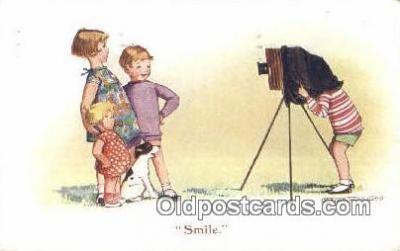 cam001229 - Artist Madge Williams Camera Postcard, Post Card Old Vintage Antique