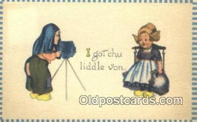 cam001246 - Camera Postcard, Post Card Old Vintage Antique