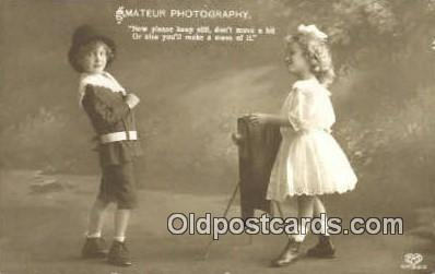 cam001261 - Camera Postcard, Post Card Old Vintage Antique