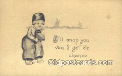 cam001265 - Camera Postcard, Post Card Old Vintage Antique