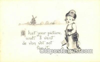 cam001281 - Camera Postcard, Post Card Old Vintage Antique