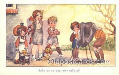 cam001290 - Camera Postcard, Post Card Old Vintage Antique