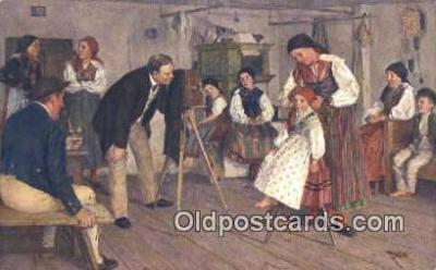 cam001310 - Jaroslav Spillar Camera Postcard, Post Card Old Vintage Antique
